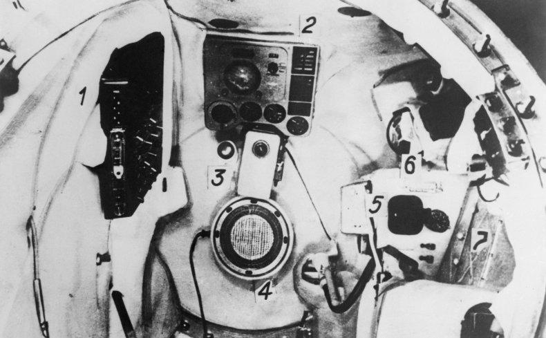 Globus IMP, Yuri Gagarin, Russia, Getty