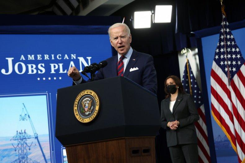 Joe Biden American Jobs Plan speech