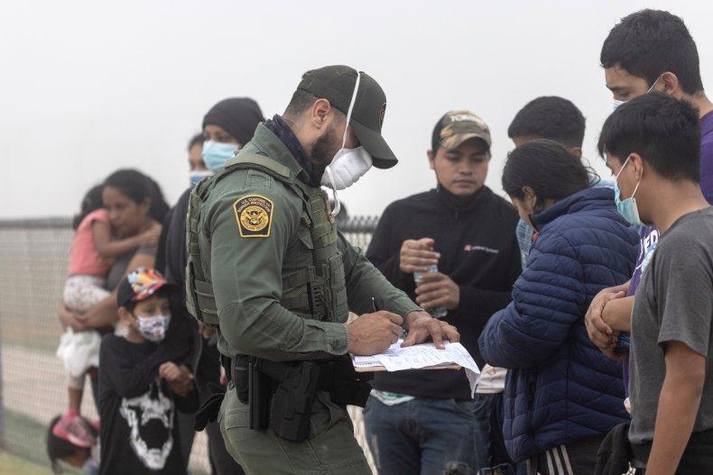 border patrol agent La Joya, Texas