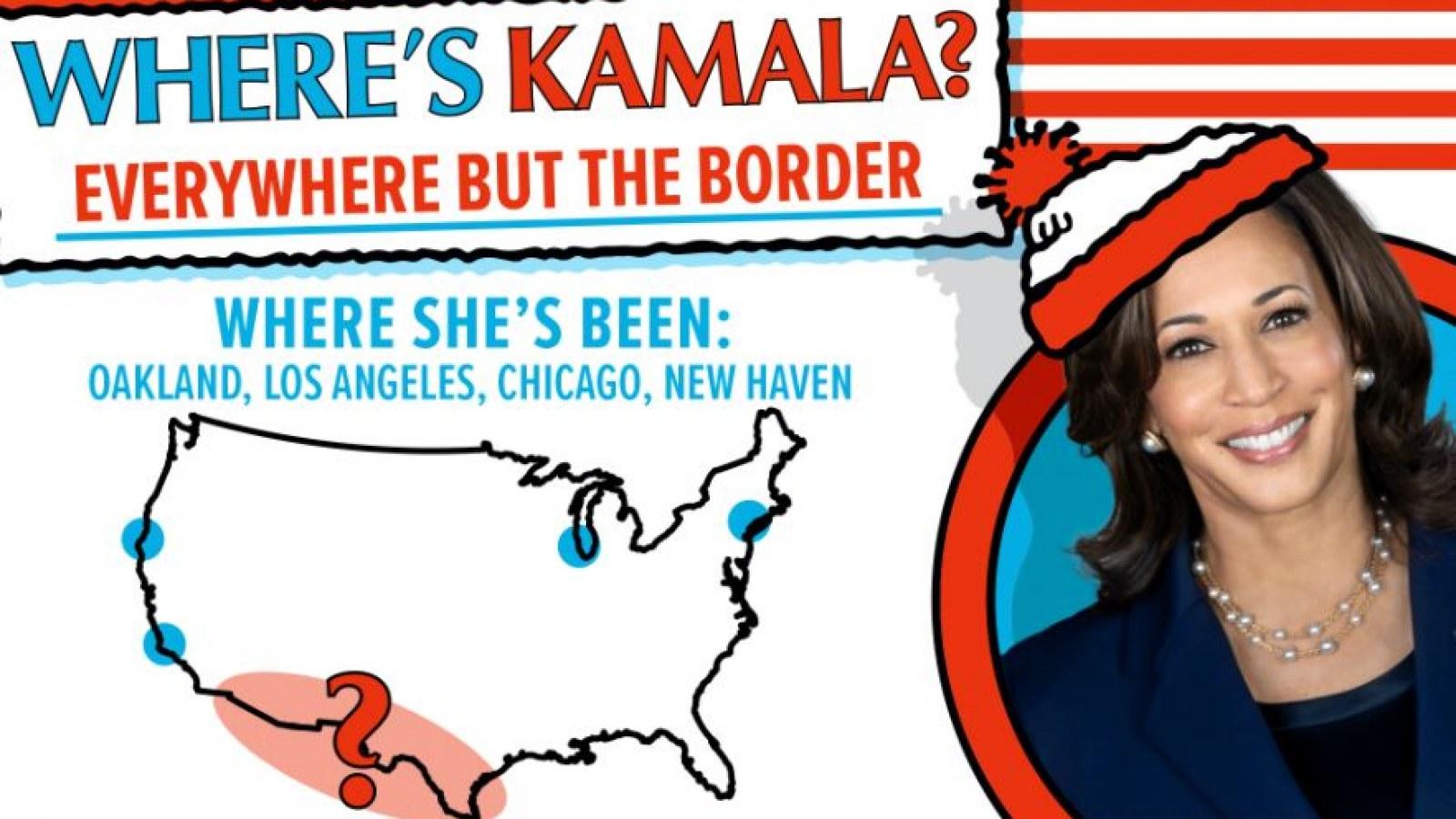 Where's Kamala?': Nikki Haley Mocks VP's Lack of Border Visit With 'Where's  Waldo' Picture
