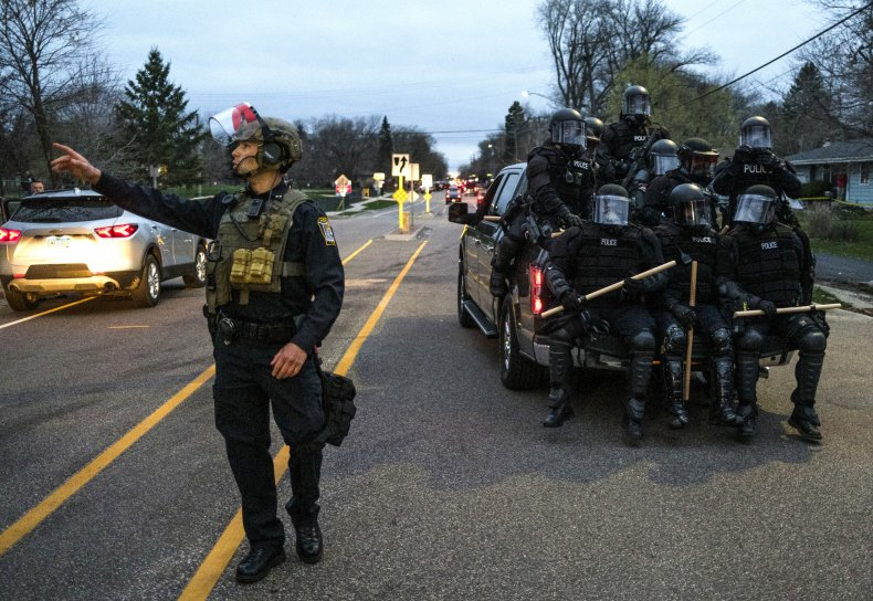 Brooklyn Center, Minnesota police officers