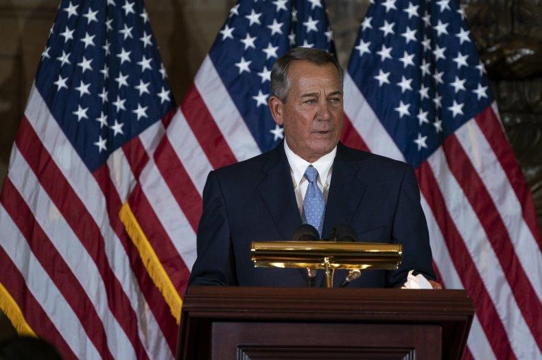 John Boehner Ted Cruz Lucifer Republicans