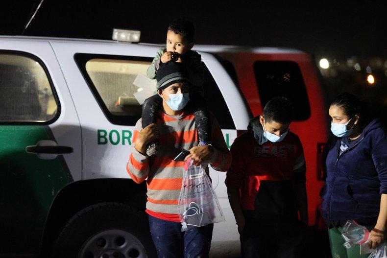 Migrants in Texas