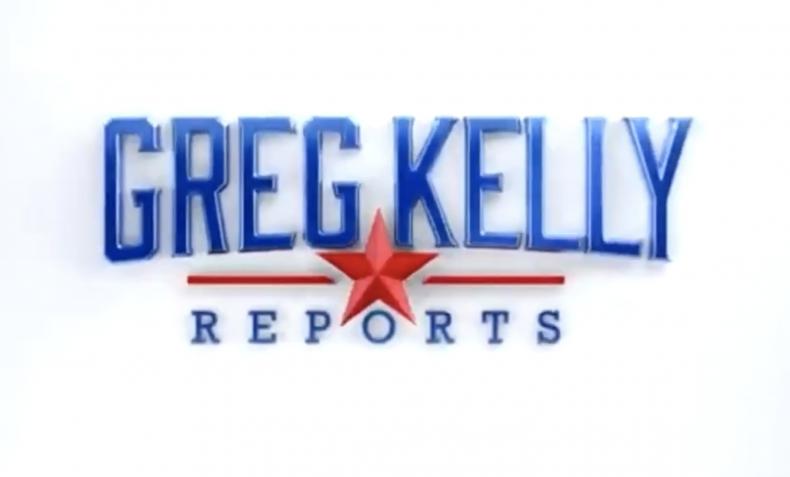 Greg Kelly logo on Newsmax