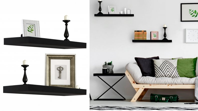 Sorbus Floating Shelf - Hanging Wall Shelves