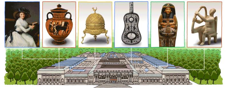 Google Doodle Metropolitan Museum