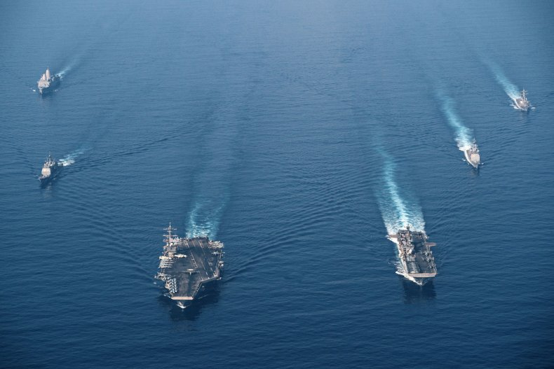 U.S. Navy Conducts South China Sea Exercises
