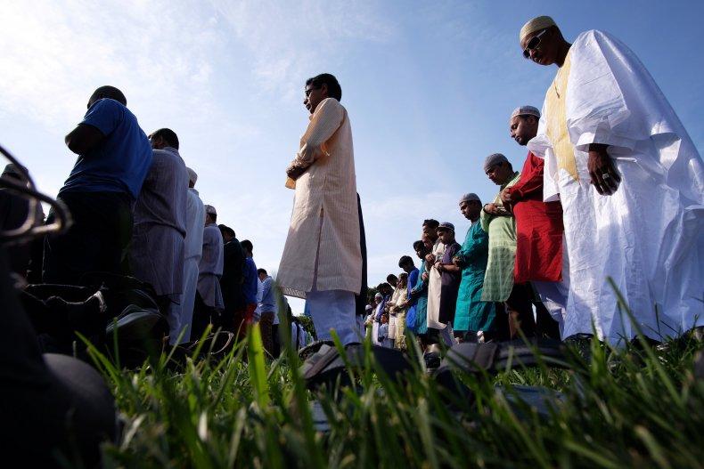 Muslims Brooklyn NYC Eid al-Fitr 2015
