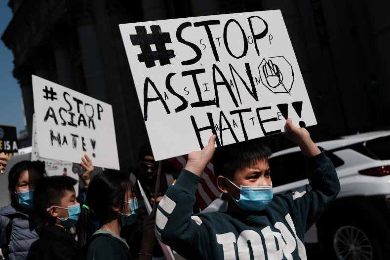 Stop Asian Hate Protest