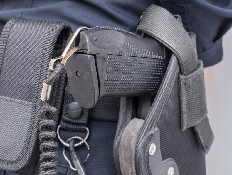 Police are trained to use tasers