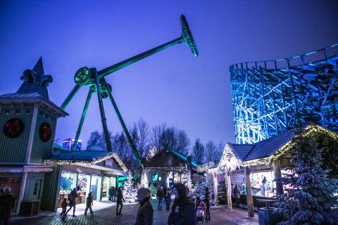 Loke Ride at Liseberg Amusement Park