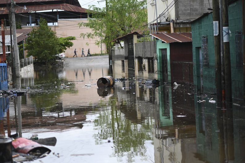 Hurricane Eta aftermath in Guatemala