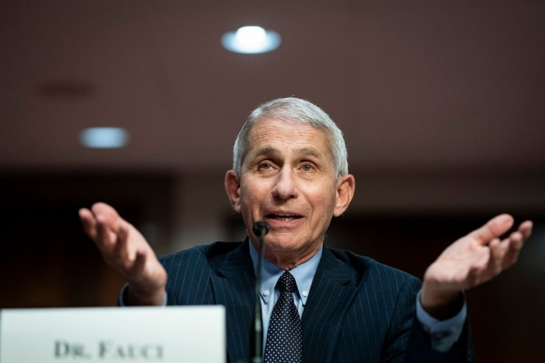 dr anthony fauci, tucker carlson, getty