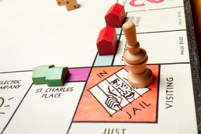 Stock image of board game Monopoly