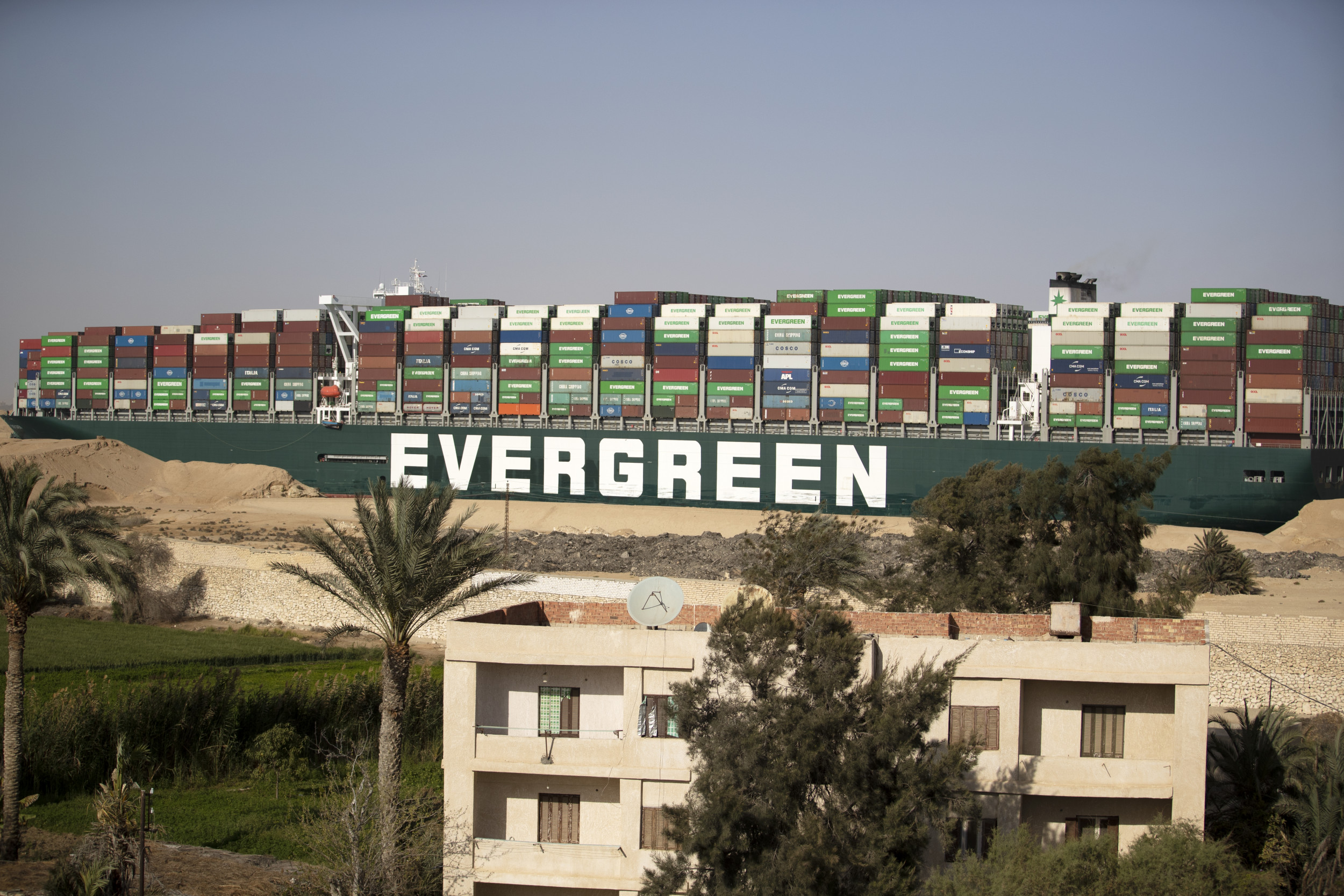 Ever Given Ship's Managers Issue Update After Suez Canal Logjam