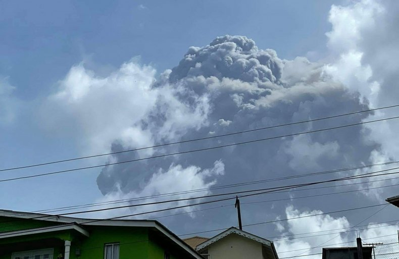 La Soufriѐre volcano in Saint Vincent