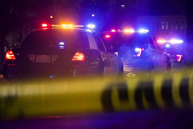 Police said the Pentland home was vandalized