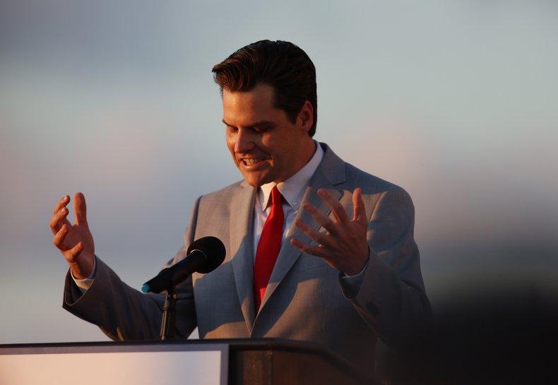Florida Rep. Matt Gaetz