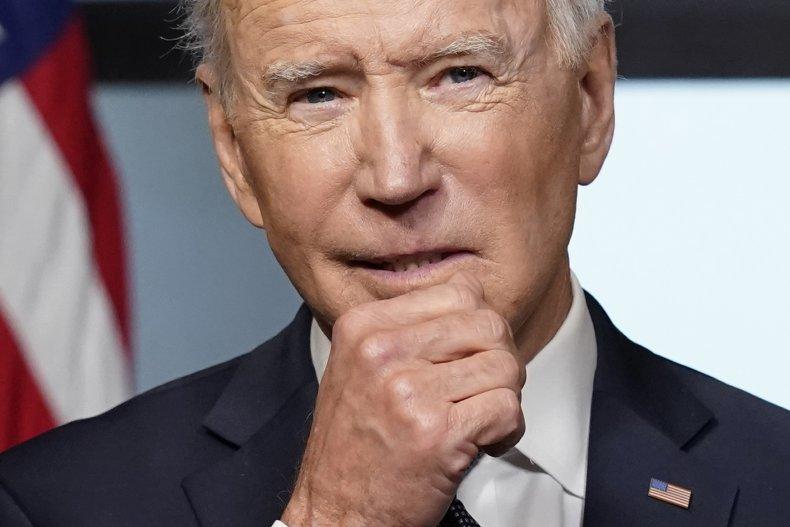 President Joe Biden in the Treaty Room