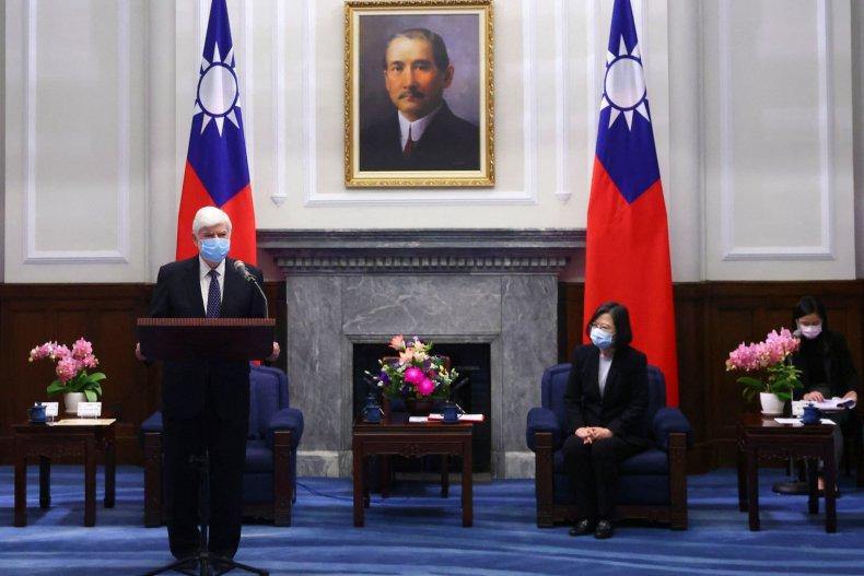 Biden Envoys Meet President of Taiwan