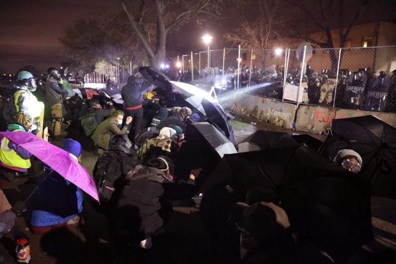 Brooklyn Center protest Minnesota April 2021