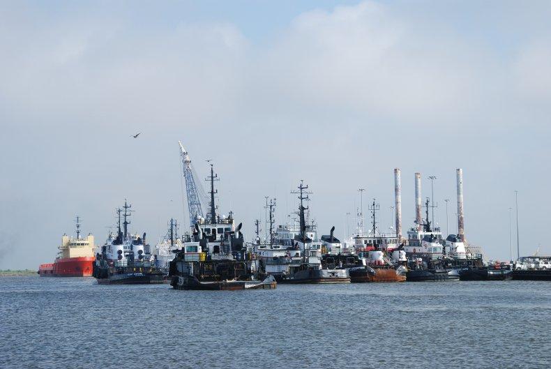 Port Fourchon, Louisiana 2011