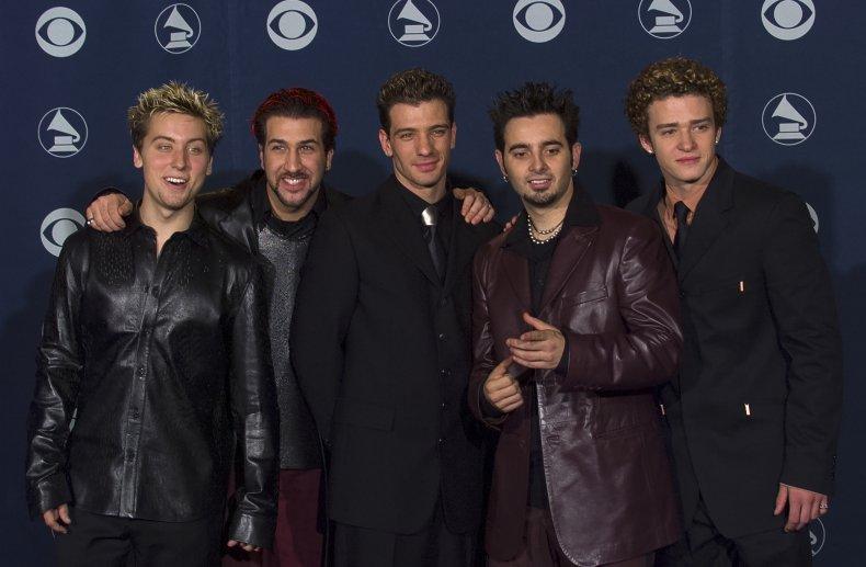 NSYNC at Grammy Awards