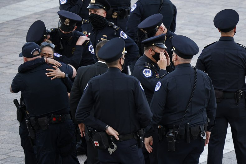 US Capitol Police Officers
