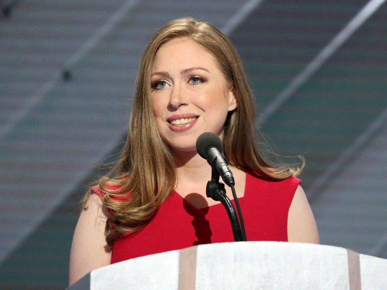 Chelsea Clinton Tucker Carlson COVID-19 vaccine Republican