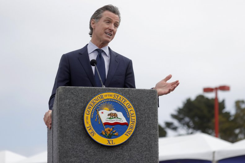 California Democrats Gavin Newsom Recall Laws