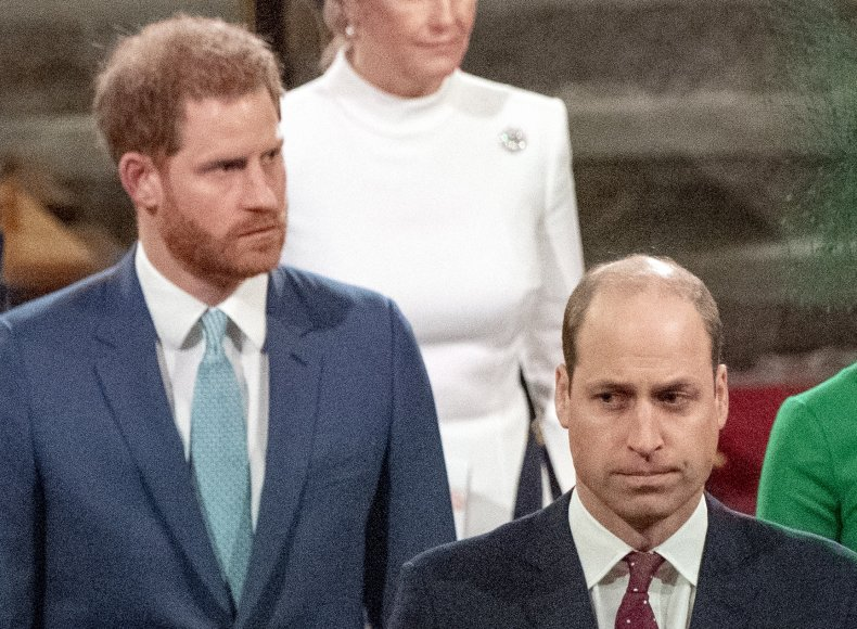 Prince Harry, Prince William at Commonwealth Day