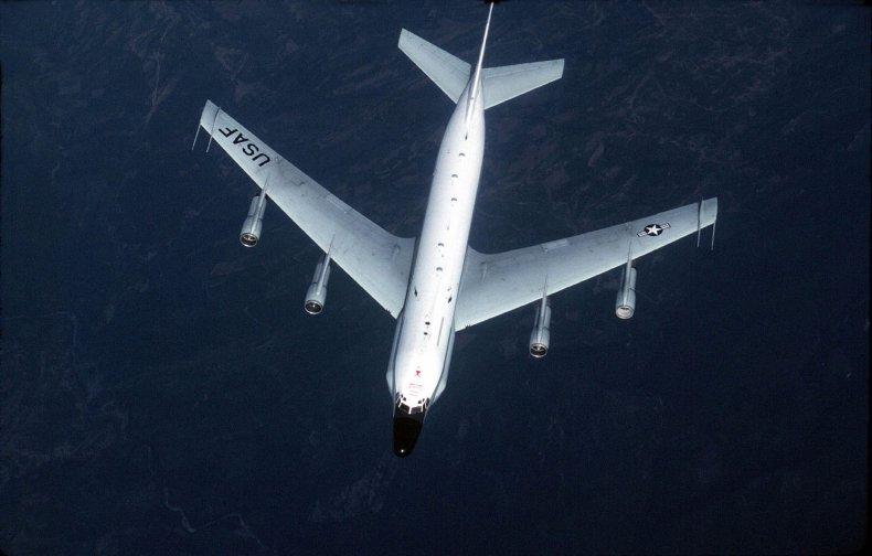 RC-135 Reconnaissance plane.