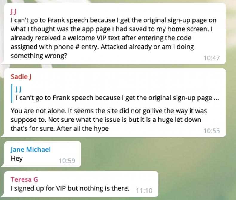 Mike Lindell Telegram Screenshot 1