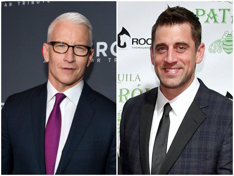 Anderson Cooper Aaron Rodgers