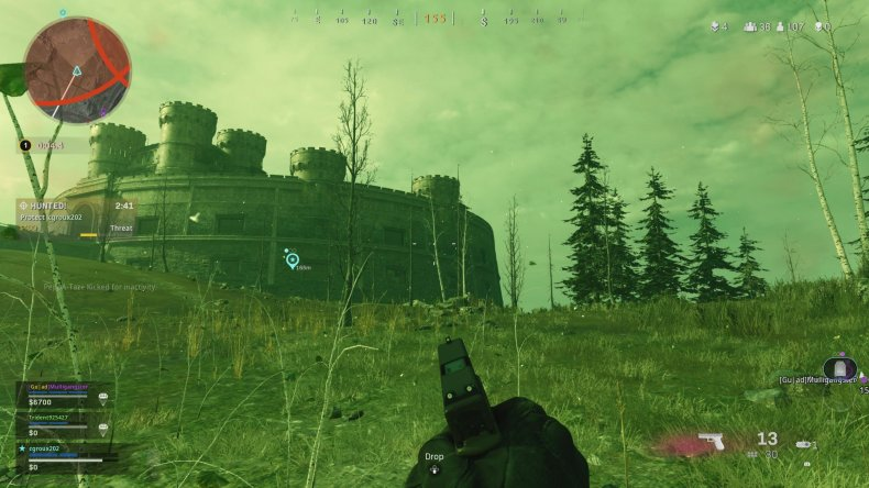 call duty warzone zombie guide radiation gas