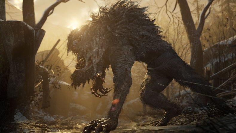 resident evil village demo werewolf