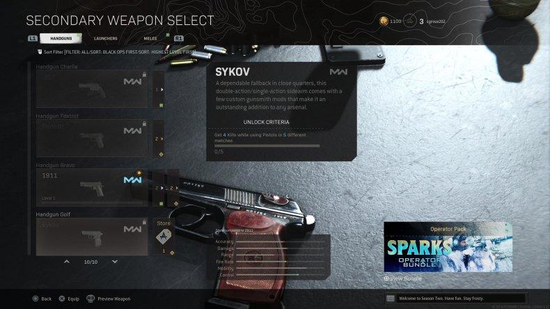 call duty warzone sykov unlock akimbo guide
