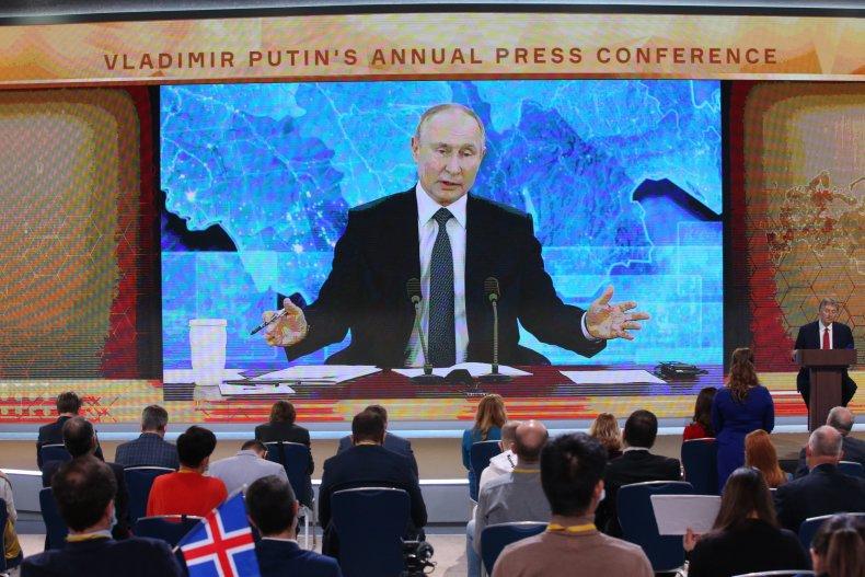 Putin Russia Sanctions