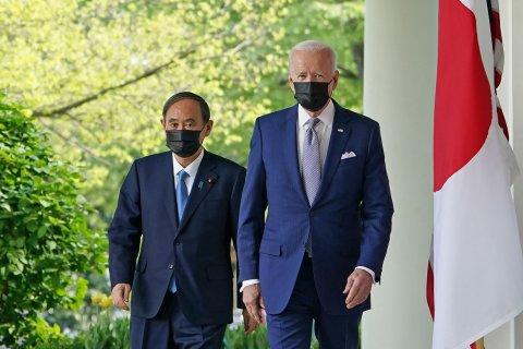 Biden Yoshihide Suga White House