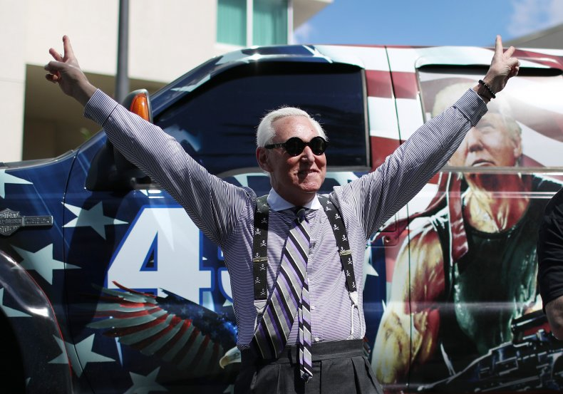 Roger Stone Taxes Lawsuit DOJ IRS