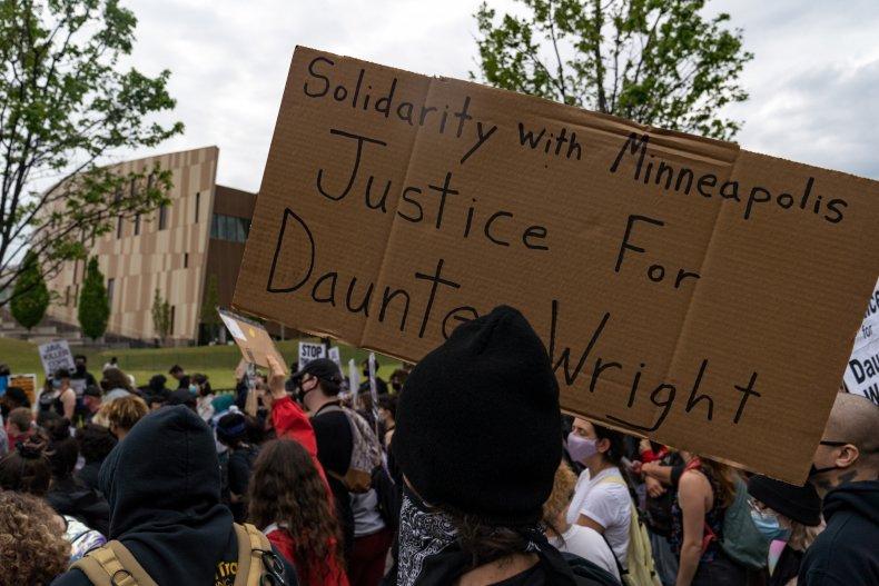 An Atlanta Demonstration for Daunte Wright