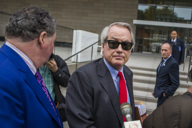 Attorneys Lin Wood Outside Court in 2019