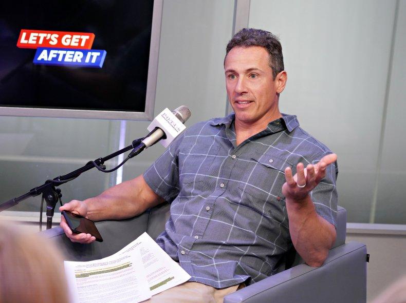 CNN Host Chris Cuomo in 2019