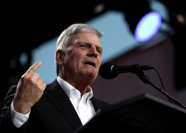 Franklin Graham Says Expanding Supreme Court Could Make U.S. 'Godless'