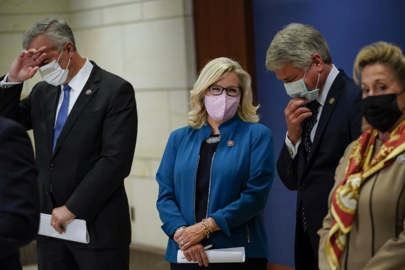 liz cheney ten house republicans