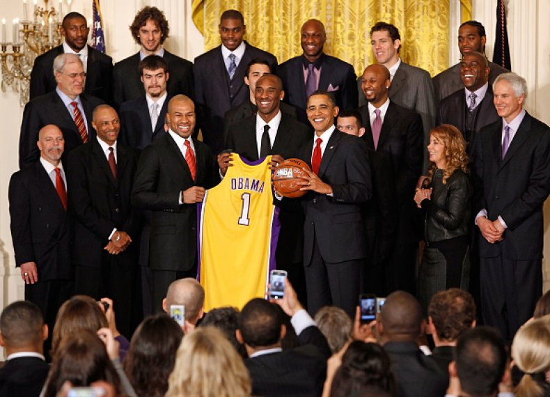 LA Lakers and Barack Obama