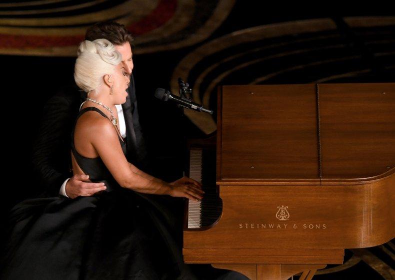 Lady Gaga Bradley Cooper oscar duet
