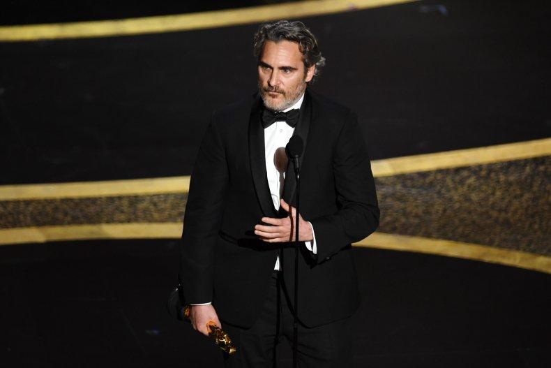 Joaquin Phoenix oscar speech
