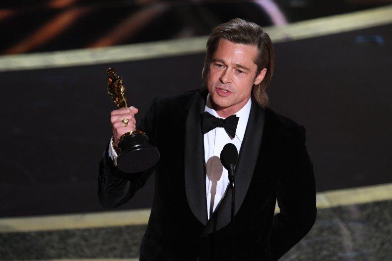 Brad Pitt oscar speech