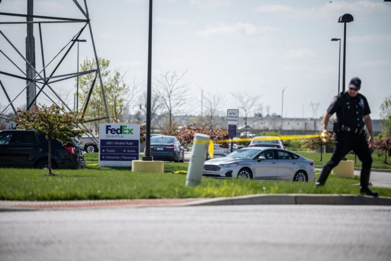FedEx shooting in Indianapolis